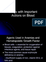 Drugs With Important Actions on Blood Revisi