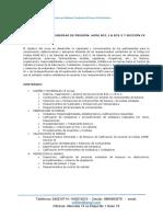 Inspección de Tuberías de Presión Asme b31.1 & b31.3 y Sección Ix