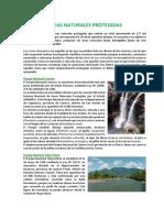 Areas Naturales Protegidas Del Peru