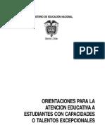 Capacidades o Talentos Excepcionales.pdf