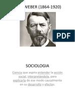 Max Weber 2019