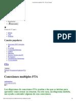 conexión de múltiples FTA