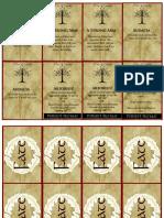 Dux Arda Gondor Cards