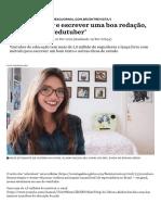 Como estudar e escrever uma boa redação, segundo esta 'edutuber' - Nexo Jornal.pdf