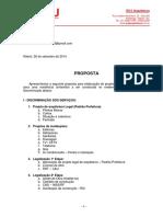 ROBSON RIO - Proposta - Projetos e Adm