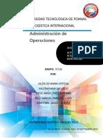 Administración de Operaciones Tu1