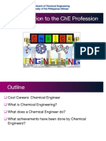 1.01 Introduction to ChE Profession