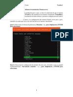 Informe de Instalación Ubuntu Server(Ver 1)