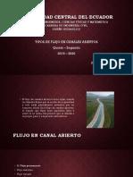 Eduardo Chiluisa Tipos de Flujo