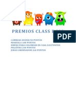 Premios Class Dojo 1