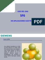 Uso del gas SF6