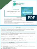 Symbolism Worksheet Set