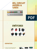 Switches, Circuit Breakers Fuses