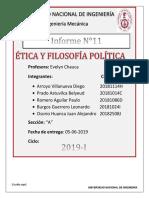 Ética y fILOSOFÍA pOLÍTICA