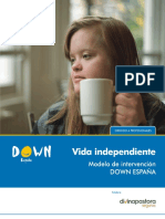Modelo de Intervencion DOWN ESPA a Vida Independiente