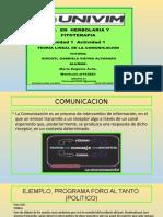 MEAvila_Teoria Lineal de La Comuncicación.