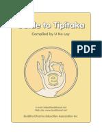 Guide to Tipitaka.U Ko Lay.@
