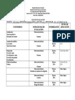Planes de Evaluacion 2do 8vo