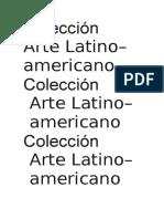 Colección de Arte Latinoamericano, Museo de Malba