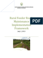 2013 Rfr Maintenance Implementation Framework Final July 2013