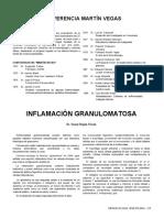 INFLAMACIÓN GRANULOMATOSA