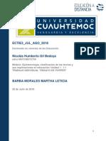 Nicolás Humberto Gil Bedoya _Actividad 1.1 La Epistemología en La Ciencia de La Educación.