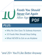 10 Foods Should Never Eat 2