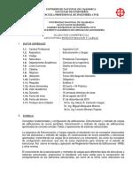 Syllabus Estructuracion y Cargas UNC