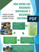 recursos naturales y culturales