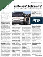 Reiseckers Reisen - Interview Bezirksrundschau