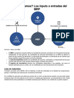 Analisis de Capacidad MRP