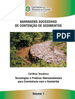 Barragens Sucessivas de Contenção de Sedimentos