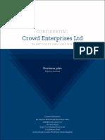 Crowd Enterprises plan