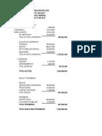 Trabajo de Contabilidad y Presupuesto 1 Resuelto