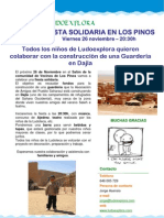 Newsletter Fiesta Solidaria
