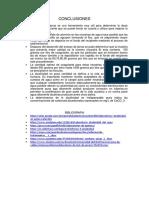 Conclusiones y Bibliografias Ambiental