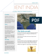 Ancient India Newsletter