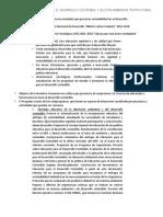 Programa de Educación Para El Desarrollo Sostenible y Gestión Ambiental Institucional