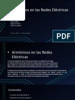 Armónicos en Las Redes Eléctricas