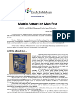 The Attraction Manifest