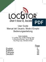 Loc8tor Lite User Manual Feb 08 Cutter