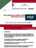 Uma Agenda de Competitividade Para a Indústria Paulista_2008