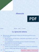 OPU 062 603 07 - Absorción & Destilación