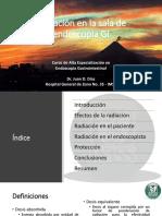 Radiacion en Endoscopia GI