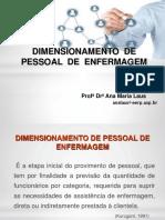 Aula2_Dimensionamento de Pessoal de Enfermagem