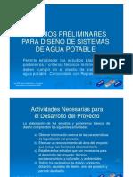 (2) Estudios Preliminares