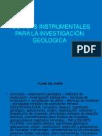 Tecnicas Instrumentales en Geologia