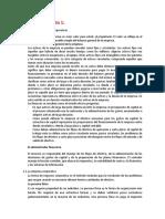 Resumen Cap 1 y 3 Finanzas Corporativas