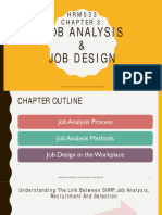 Chapter 3- Job Analysis & Job Design