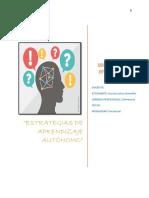Estrategias de Aprendizaje Autonomo